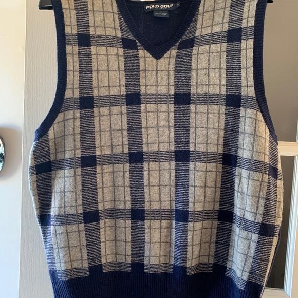Men's Polo Golf Sweater Vest by Ralph Lauren